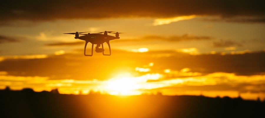 Drones allow you to take aerial photography Ian Andrews
