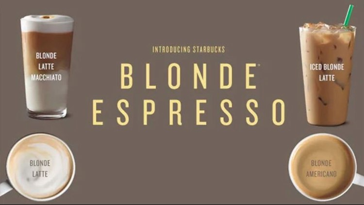 what is a blonde espresso ?